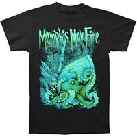 Memphis May Fire Men's Tragedy At Sea T-shirt Black