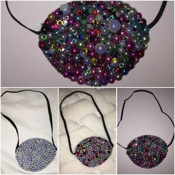Pearls & Diamonds Mix Fancy Eye Patches
