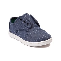 Toddler TOMS Paseo Polka Dots Casual Shoe