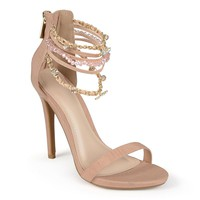 Journee Collection Women's Strappy High Heels