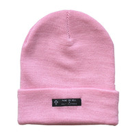 KULT Clothing — PASTEL PINK BEANIE
