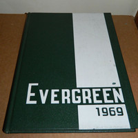 1969  - Tower Hill School Yearbook - The Evergreen - Wilmington Delaware - Minimal Signatures