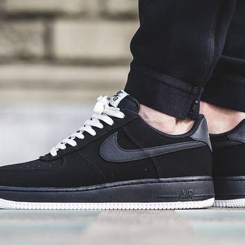 "Nike Air Force 1 Low ""Black"" 820266-017"