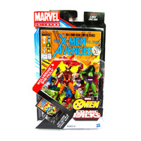 Wolverine & She-Hulk Marvel Universe Exclusive Comic Book Action Figure 2-Pack