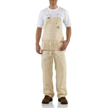 Carhartt | Men's Drill Carpenter Bib Overalls | Bibs & Coveralls | Clemens Uniform | R29
