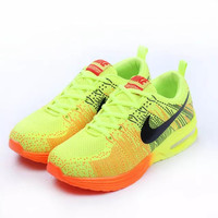 NIKE Woman Fashion Ventilation Rainbow Multicolor Running Sneakers Sport Shoes