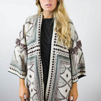 Wilderness Sweater Cardigan