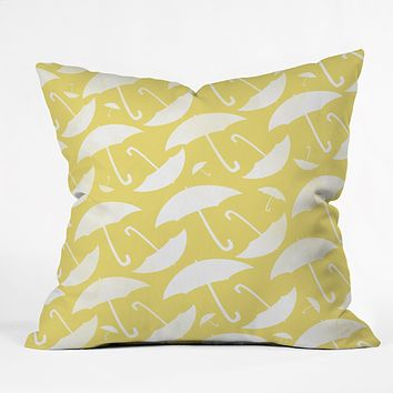Allyson Johnson Umbrella Throw Pillow