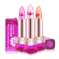 Jelly Fruit Lip Balm Waterproof Chrysanthemum Lipstick  Stick Temperature Change Moisturizer Bright Lips Cosmetic