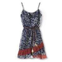 Floral Tiered Dress Navy - Lots of Love by Speechless