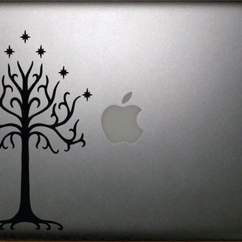 "The Lord of the Rings Inspired Tree of Gondor13"" Macbook Decal  FREE SHIPPING"