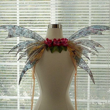Iridescent Fairy Wings-Adults and Children (Made by Request)