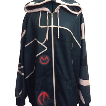 Magic the Gathering Jace Inspired Hoodie