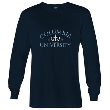 Columbia Crown 1754 Long Sleeve T-shirt (Navy)