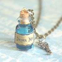 drink me potion necklace