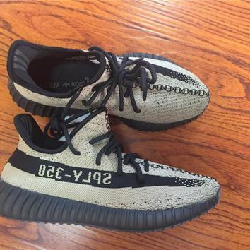 Adidas Yeezy 350 Boost V2 Local Tyrants Gold Basketball Shoes 36 47