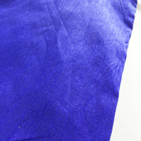 Indian Silk Dupioni Fabric in Royal Blue for DIY Projects Dress making and Crafts