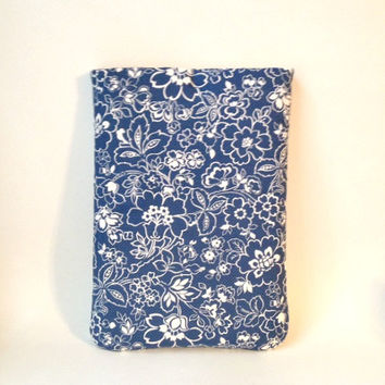 MacBook Pro 13 Case, Laptop Case, MacBook Pro Laptop Sleeve, MacBook Pro Touch Bar, MacBook Air 13 Sleeop Case,Blue Floral MacBook Cover Bag