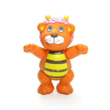 Bumblelion Wuzzles Toy Vintage Disney Poseable Action Figure - Bumblebee & Lion Hybrid Animal