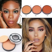 Contouring Makeup Oil-control Waterproof Mineral Matte Face Contour Powder Palette