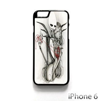 The Nightmare Before Christmas Jack and Sally for Iphone 4/4S Iphone 5/5S/5C Iphone 6/6S/6S Plus/6 Plus Phone case