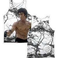 Mens Bruce Lee Battle Ready Sublimation Tank Top