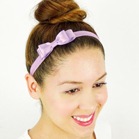 Orchid Baby Headband Women's Hair Accessories Girls Headband Elastic Headband stretchy headband Women's Headband Baby Hair Bows Orchid bow