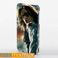 The Winter Soldier, Captain America iPhone 4/4S, 5/5S, 5C Series Full Wrap Case