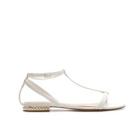 STUDDED STRAPPY SANDALS - Shoes - Woman - ZARA United States