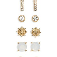 BP. 6-Pack Sunburst Earrings | Nordstrom