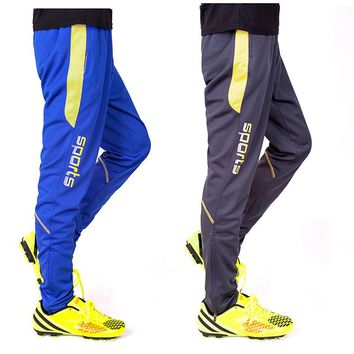 Men Cycling pant Training Soccer Pants Bodybuilding Trousers