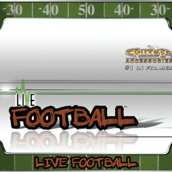 Sports Football License Plate Frame