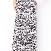 AZTEC MAXI SKIRT - JUST ARRIVED