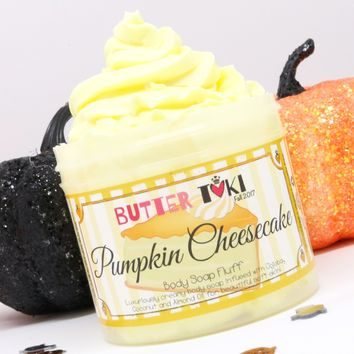 PUMPKIN CHEESECAKE Whipped Body Soap Fluff 4oz
