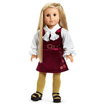 American Girl® Clothing: Julie's Chirstmas Outfit