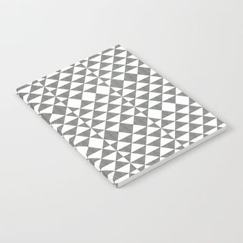 Gray White Geometrical Pattern by ARTbyJWP