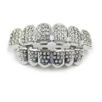 Icey Silver Grillz