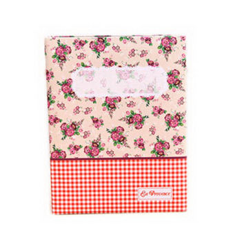 Creative Inset Photo Memory Book/Album of Baby's First 5 Years(Red Plaid)