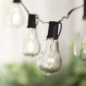 Vintage Edison Bulb Outdoor String Lights
