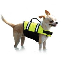 Paws Aboard Doggy Life Jacket in Yellow