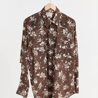Vintage Wrangler Floral Western Shirt | Urban Outfitters