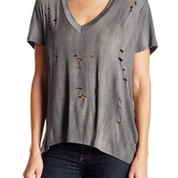 Leibl '38 | Distressed V-Neck Tee | Nordstrom Rack