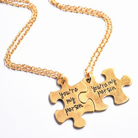 Jewelry Gift Shiny New Arrival Stylish Alphabet Set Pendant Necklace [4970307204]