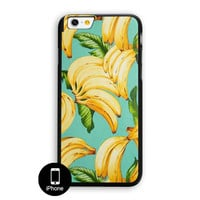 Banana Pattern iPhone 6 Plus Case