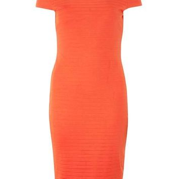 Orange Bandage Bodycon Dress - Bodycon Dresses - Dresses