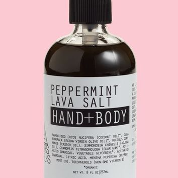 Moon Rivers Naturals Peppermint Lava Salt Hand & Body Wash | Nordstrom