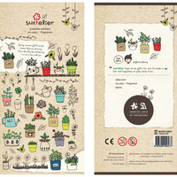 Suatelier Deco sticker art stickers - Fragrance 1 Sheets SS1007