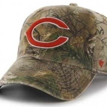 Chicago Bears Real Tree Big Buck Clean Up Adjustable Strapback Hat