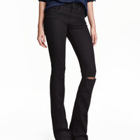 H&M Skinny Flared Ripped Jeans $34.99