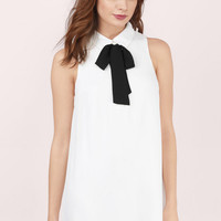 Trysha Tie Shift Dress